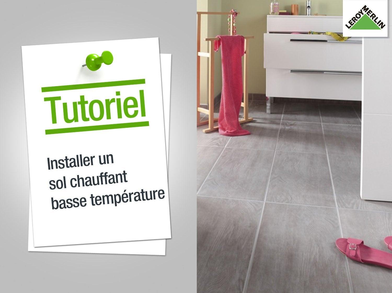 comment installer un revêtement de sol en vinyle sans colle dans une salle de bain