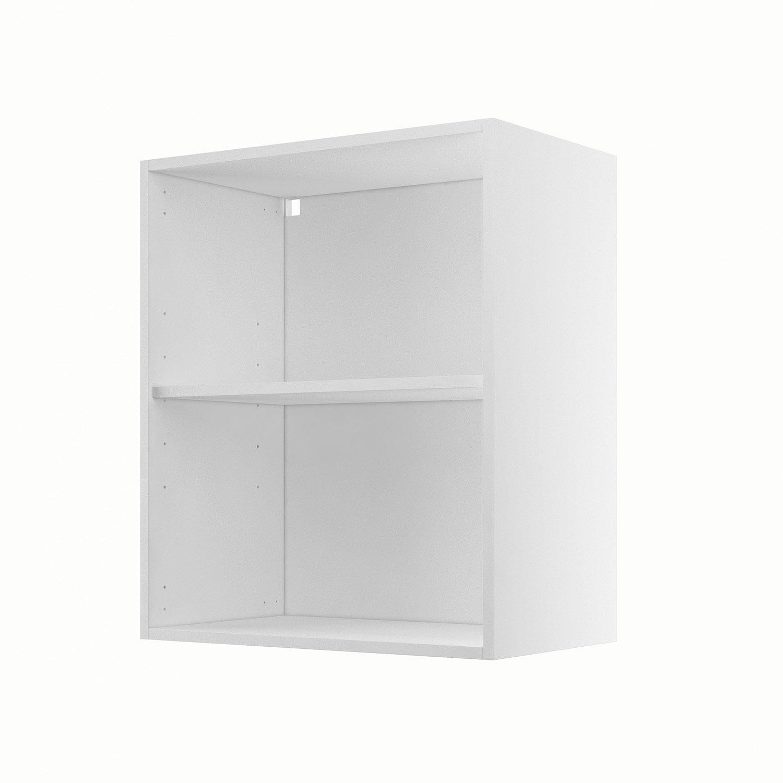 caisson de cuisine haut h6070 delinia blanc l60 x h70