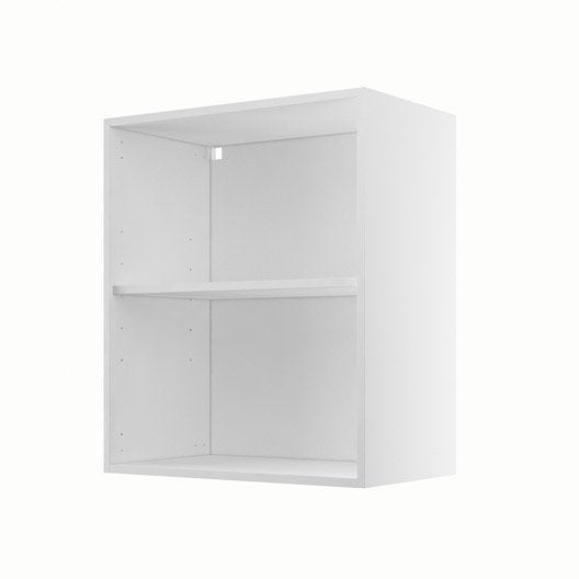 caisson de cuisine haut h60 70 delinia blanc x x cm leroy merlin. Black Bedroom Furniture Sets. Home Design Ideas