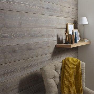 lambris bois lambris pin lambris ch ne leroy merlin. Black Bedroom Furniture Sets. Home Design Ideas