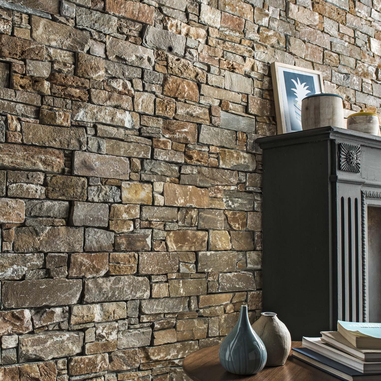 Plaquette de parement pierre naturelle orient Stonepanel | Leroy Merlin