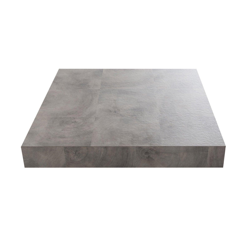 plan de travail stratifi naturel mat x cm mm leroy merlin. Black Bedroom Furniture Sets. Home Design Ideas