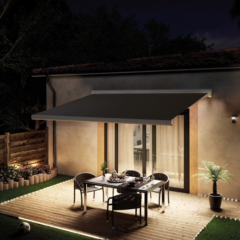 store banne sur pied double pente leroy merlin latest. Black Bedroom Furniture Sets. Home Design Ideas