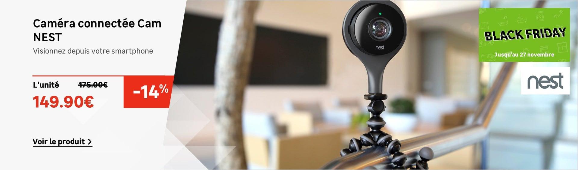 Caméra connectée Cam NEST