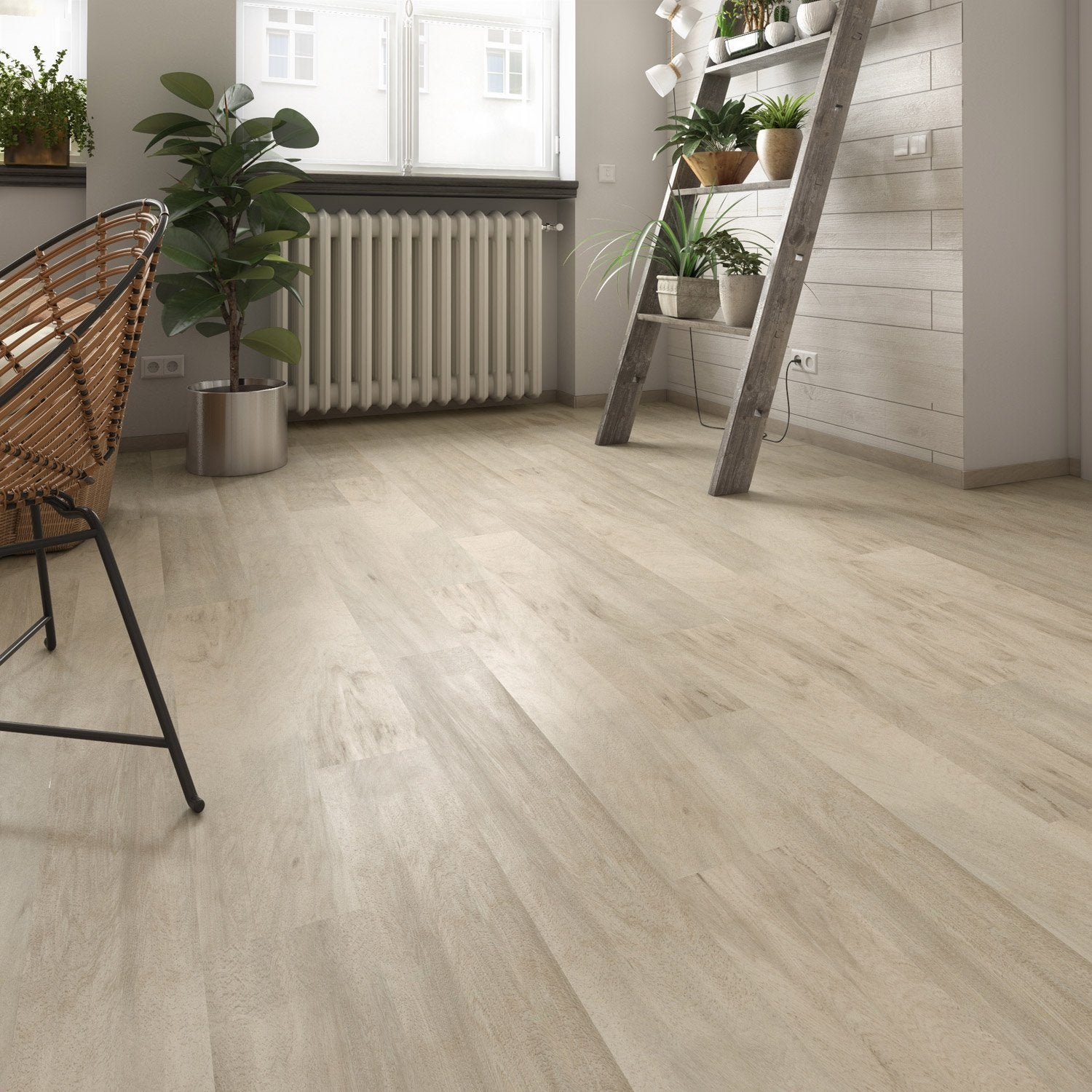 Lame PVC clipsable authentic blond GERFLOR Senso premium clic