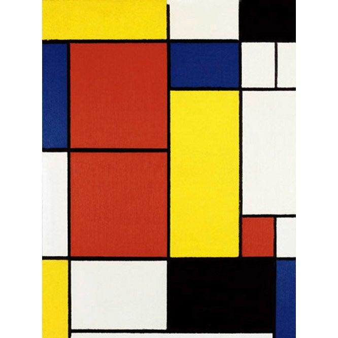 Mondrian 80 X 60 H Ii Cm L Composition Affiche X8n0OwPk