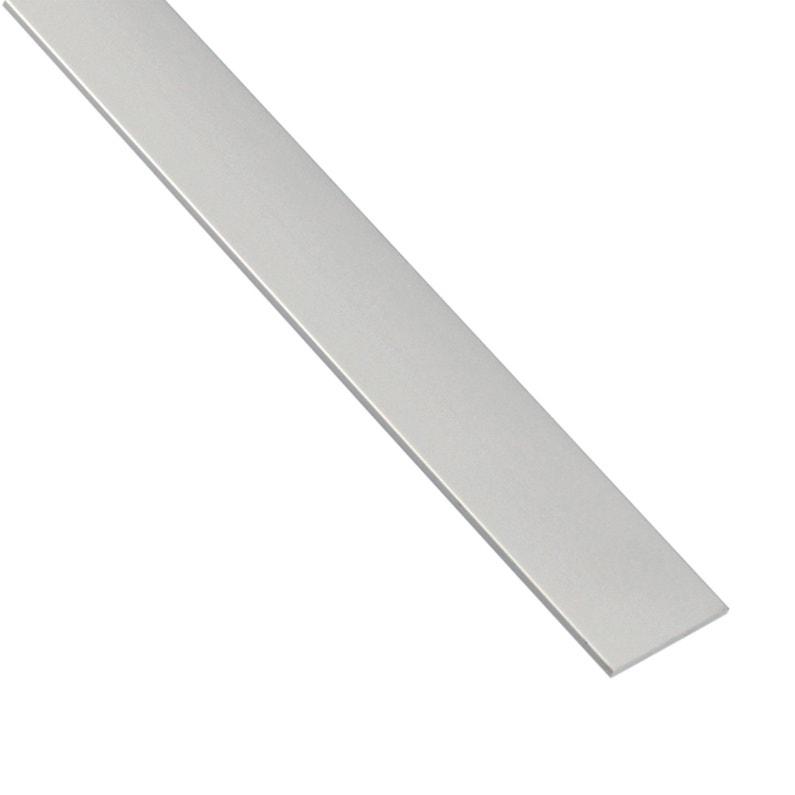 Plat Aluminium Anodisé Argent L26 M X L22 Cm X H02 Cm