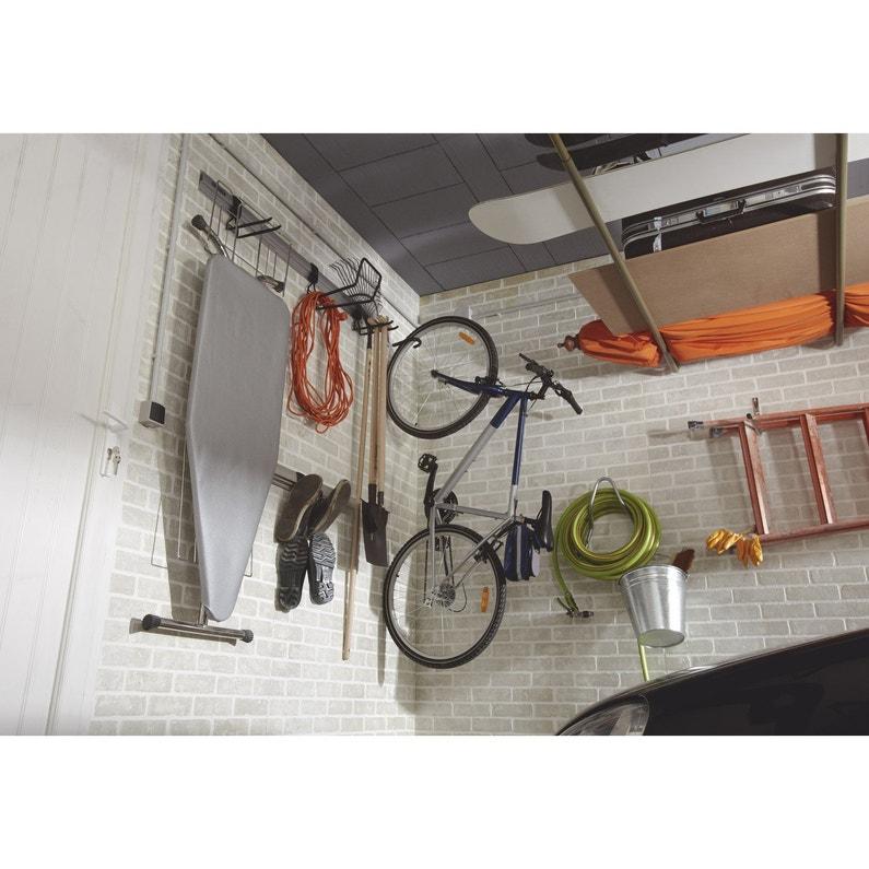 Crochet Pour 1 Vélo H 19 X L 1 6 X P 10 Cm Leroy Merlin