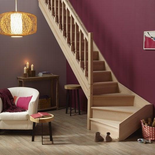 Les produits les conseils et les id es pour le bricolage la d coration et l - Escalier demi tournant leroy merlin ...