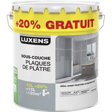 Sous-couche plaque de plâtre LUXENS, 10L + 20% gratuit