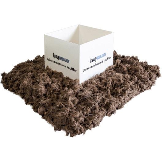 laine de verre souffler knauf insulation r variable selon l 39 paisseur leroy merlin. Black Bedroom Furniture Sets. Home Design Ideas