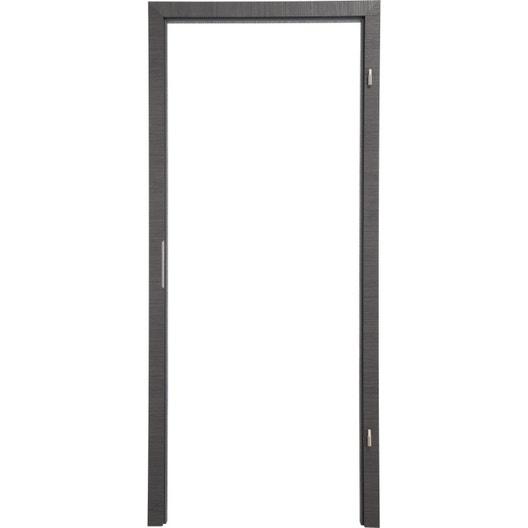 kit brasement pour porte londres 83 cm poussant gauche d cor ch ne gris leroy merlin. Black Bedroom Furniture Sets. Home Design Ideas
