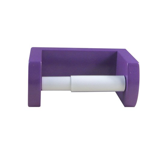 d rouleur papier wc young violet leroy merlin. Black Bedroom Furniture Sets. Home Design Ideas