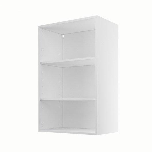 caisson de cuisine haut h60 92 delinia blanc x x. Black Bedroom Furniture Sets. Home Design Ideas