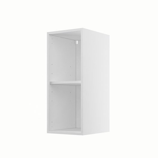 caisson de cuisine haut h30 70 delinia blanc x x. Black Bedroom Furniture Sets. Home Design Ideas