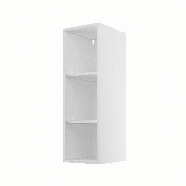 caisson de cuisine haut h30 92 delinia blanc x x. Black Bedroom Furniture Sets. Home Design Ideas