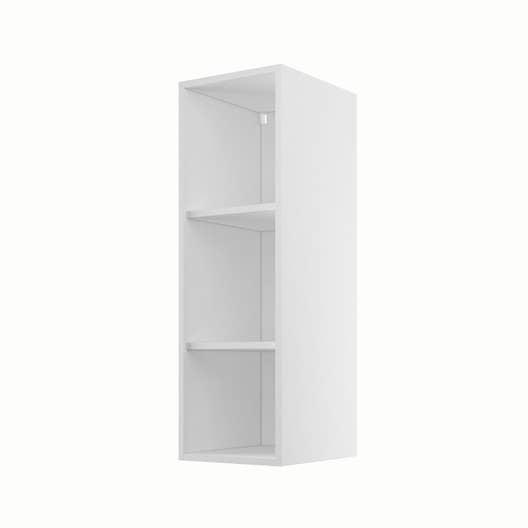 caisson de cuisine haut h30 92 delinia blanc x x cm leroy merlin. Black Bedroom Furniture Sets. Home Design Ideas
