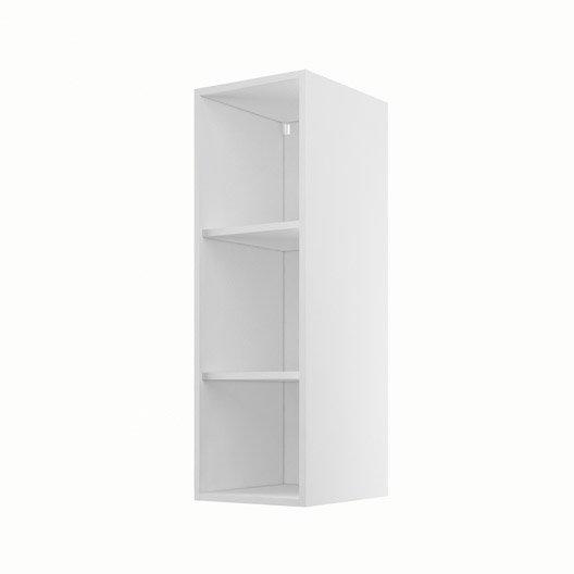 Caisson de cuisine haut h30 92 delinia blanc x x for Porte de caisson de cuisine