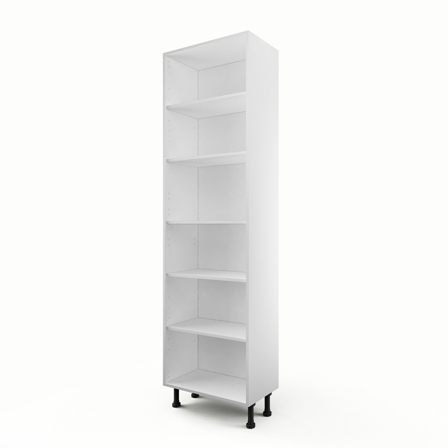 caisson de cuisine armoire a60 delinia blanc x x cm leroy merlin. Black Bedroom Furniture Sets. Home Design Ideas