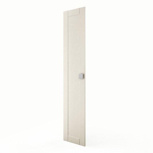 Porte colonne de cuisine ivoire f40 200 karrey l40 x h200 for Colonne cuisine 40 cm