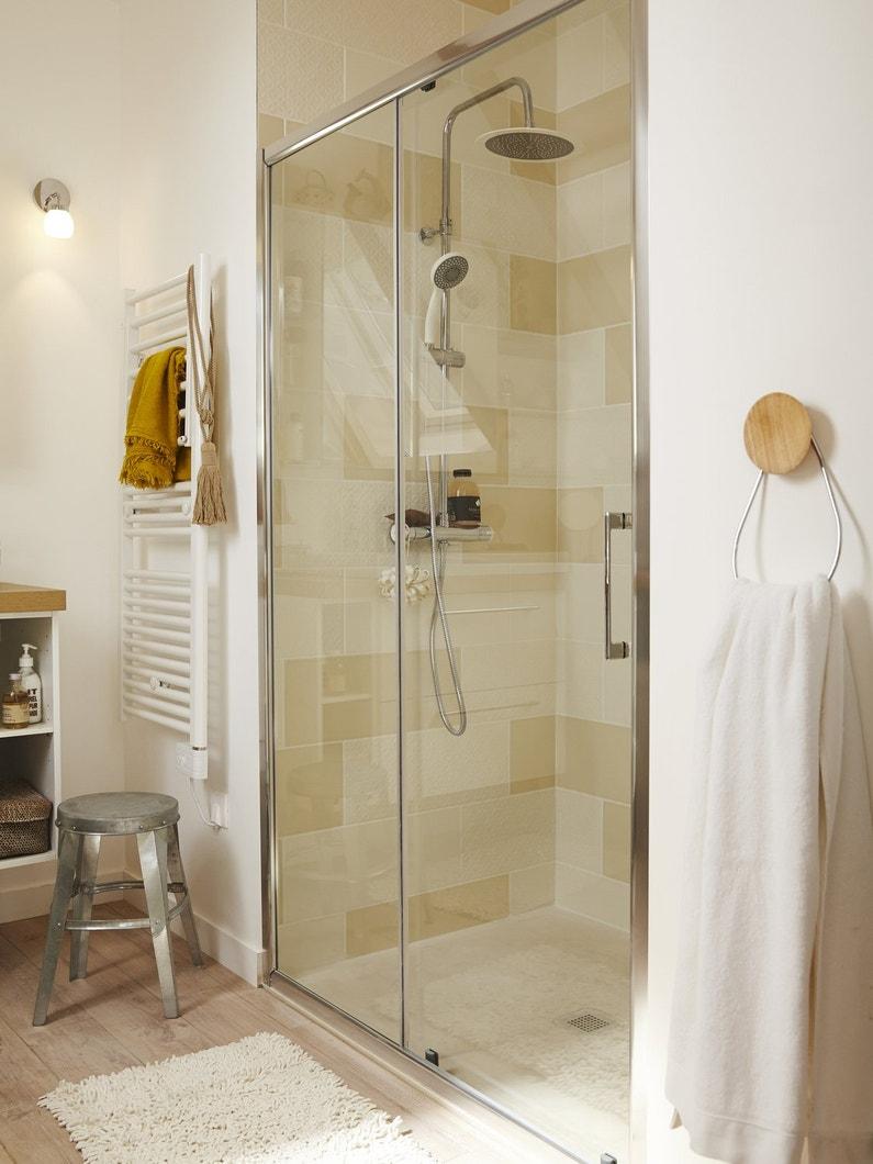 une douche la place de la baignoire leroy merlin. Black Bedroom Furniture Sets. Home Design Ideas