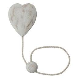 Embrasse aimantée Cupidon, blanc