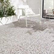 Carrelage beige effet pierre Poucet l.30 x L.60 cm