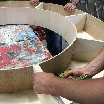 Cours de bricolage nos ateliers de bricolage en magasin - Comment construire une bibliotheque ...