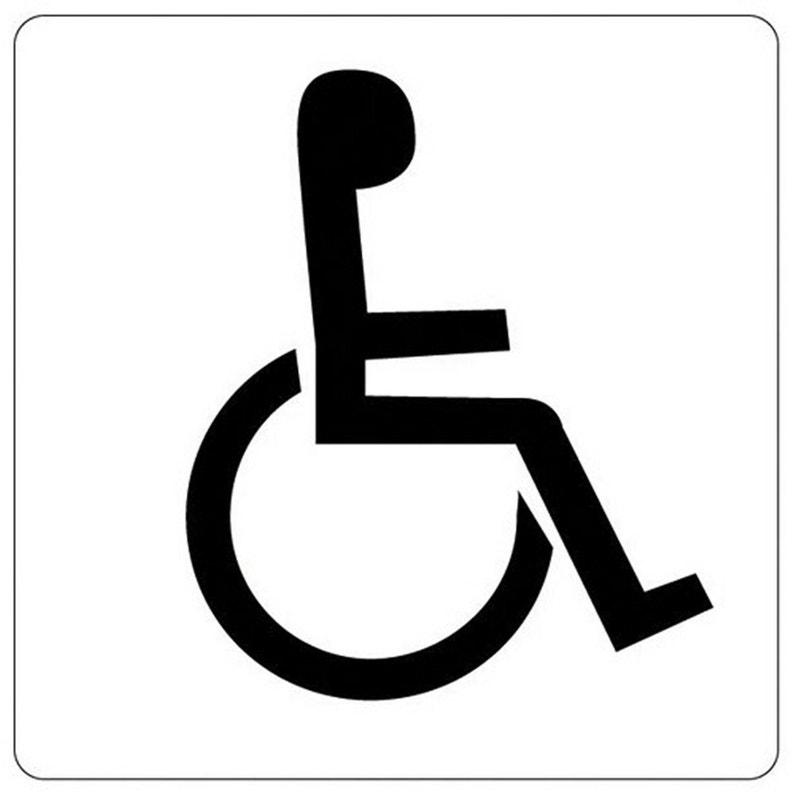 Adhésif Wc Handicapé En Plastique