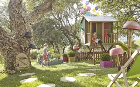 Un jardin pour les enfants