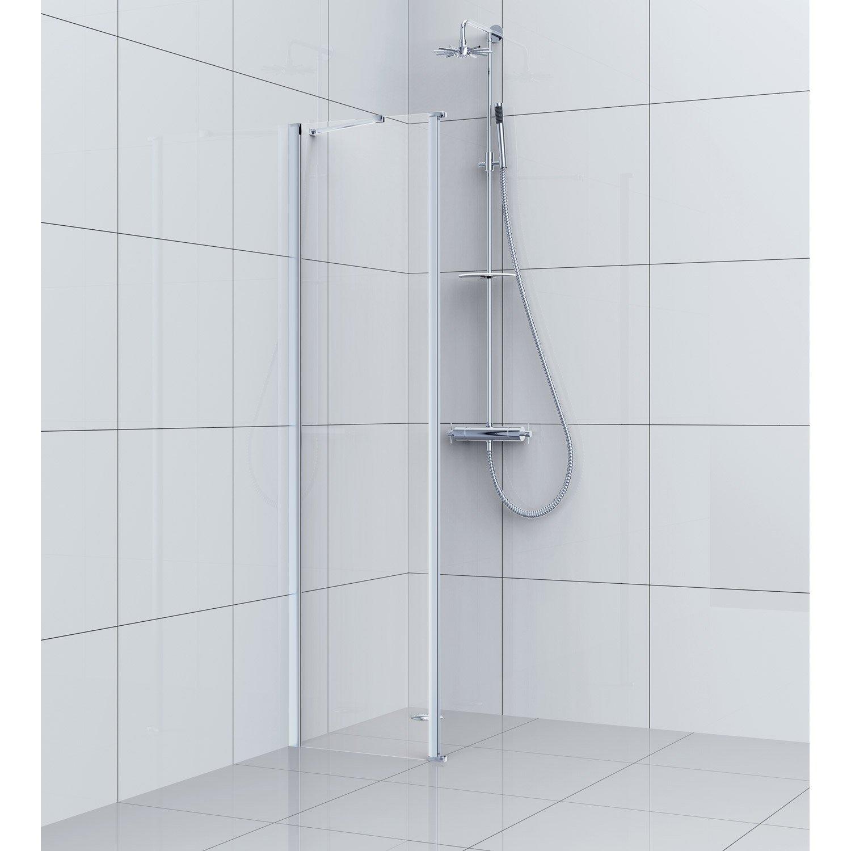 paroi de douche fixe 40 cm