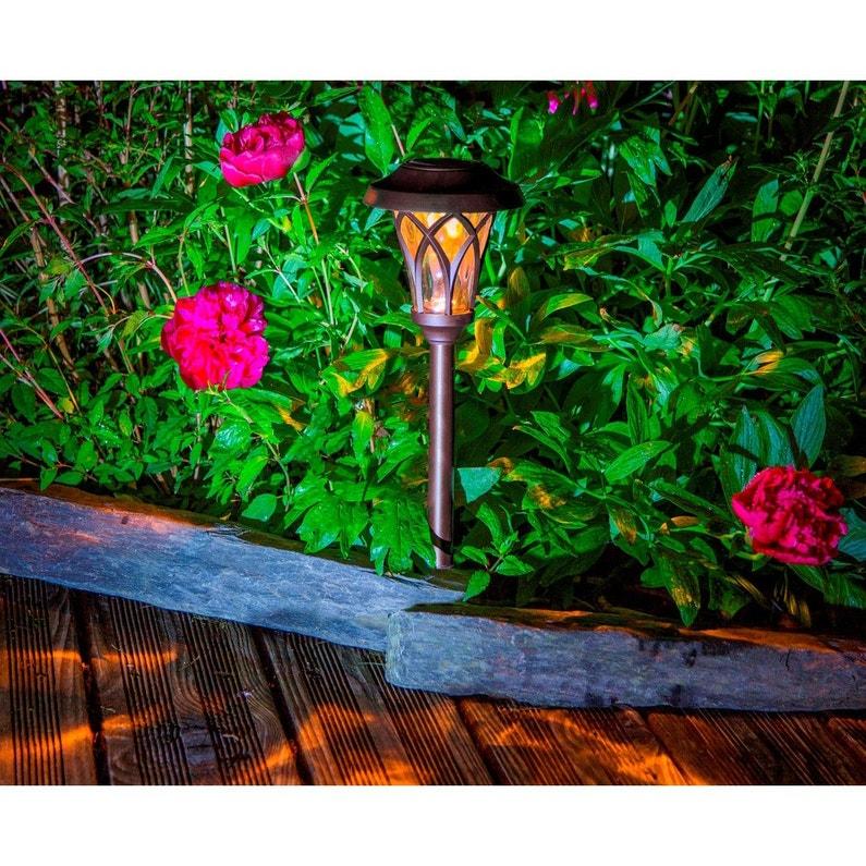 Lampe de jardin extérieur 2014475 LED intégrée 1 Lumen blanc NORTENE