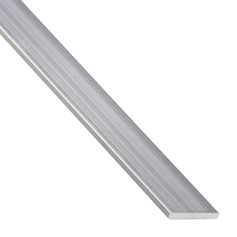 Plat Aluminium Brut Argent L26 M X L35 Cm X H02 Cm