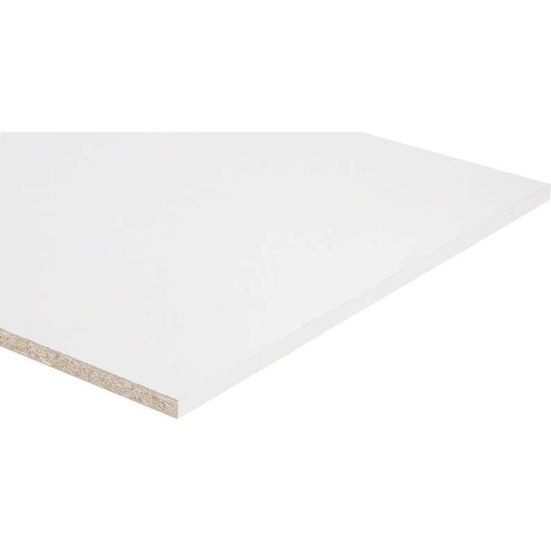 Tablette Agglomeree Blanc L 250 X L 60 Cm X Ep 18 Mm Leroy Merlin