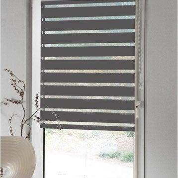 store enrouleur polyester jour nuit inspire gris 52 55 x 170 cm. Black Bedroom Furniture Sets. Home Design Ideas