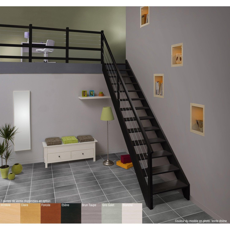 Escalier Quart Tournant Hetre Leroy Merlin