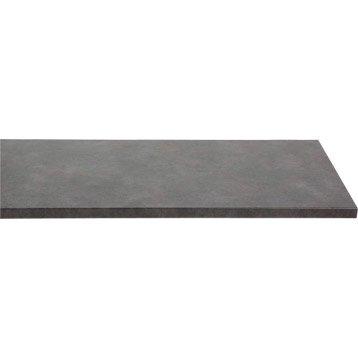 plan de travail droit stratifi m tal vieilli 300 x 65 cm p 38 mm. Black Bedroom Furniture Sets. Home Design Ideas