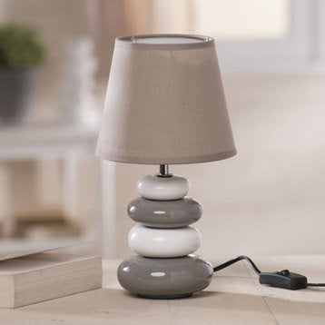 lampe de chevet lampe de salon lampe leroy merlin. Black Bedroom Furniture Sets. Home Design Ideas