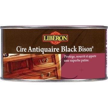 Cire en pâte meuble et objets Cire black bison LIBERON, 0.5 l, incolore