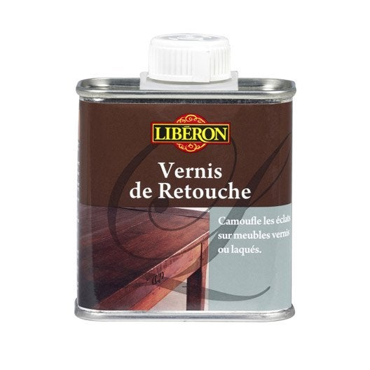 Vernis retouche meuble et objets liberon incolore for Produit liberon bois