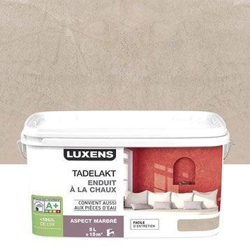 Peinture à effet, Tadelakt LUXENS, brun gatsby 6, 5 l