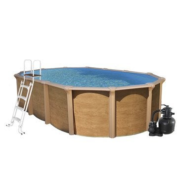 Piscine piscine hors sol gonflable tubulaire leroy for Piscine hors sol 1 32