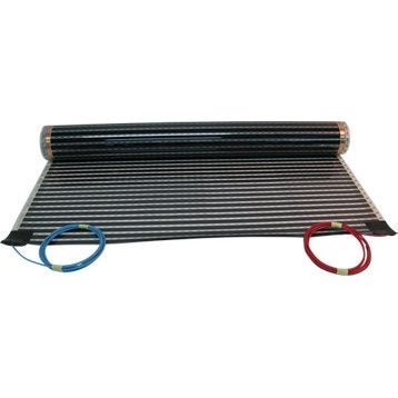 Film et c ble chauffant plancher chauffant lectrique et eau chaude ler - Sol chauffant electrique sous carrelage ...