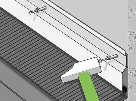 Comment assurer l tanch it de la toiture leroy merlin - Comment faire un toit en zinc ...
