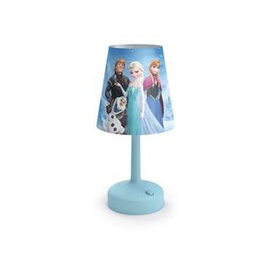 lampe a poser reine des neiges. Black Bedroom Furniture Sets. Home Design Ideas