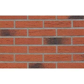 Plaquette de parement pierre de parement et accessoires leroy merlin - Parement brique rouge ...