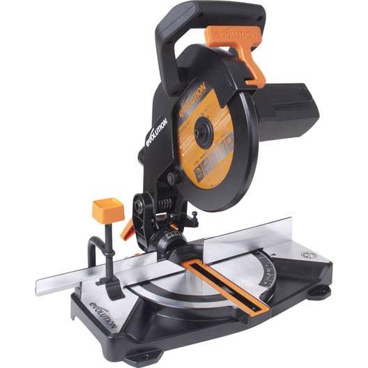 scie onglet evolution 210 mm 1100 w leroy merlin. Black Bedroom Furniture Sets. Home Design Ideas