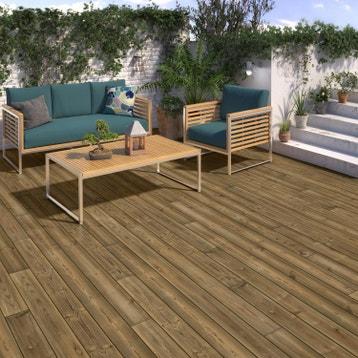 dalle terrasse caillebotis lame terrasse planche bois au meilleur prix leroy merlin. Black Bedroom Furniture Sets. Home Design Ideas
