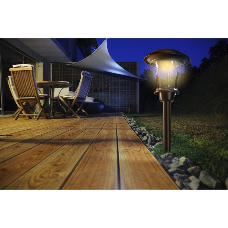 Lampe de jardin extérieur 2014476 LED intégrée 3 Lumen blanc NORTENE