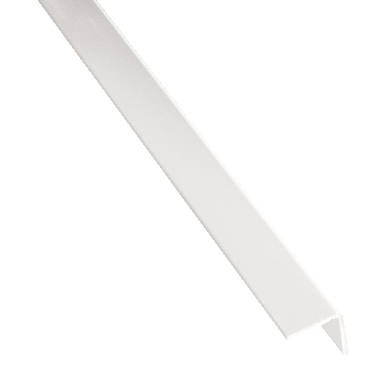 Cornière Adhésive Pvc Mat Blanc L26 M X L16 Cm X H16 Cm